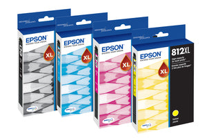 Epson T812 Original Ink Cartridge - Cyan / Magenta / Yellow  Inkjet - High Yield Each