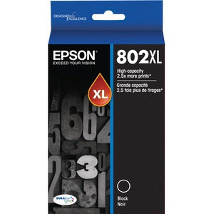 Epson T802XL Black Ink Cartridge High-capacity