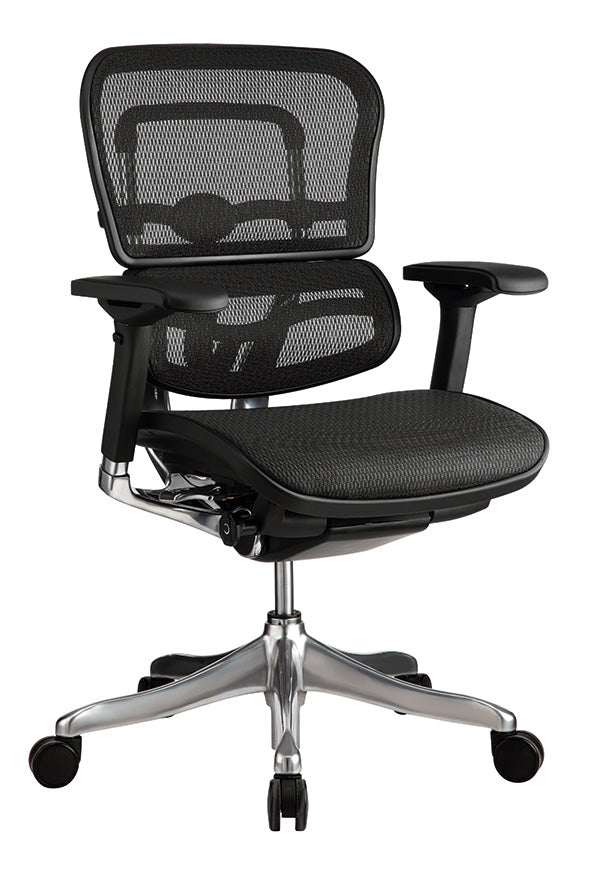 "26.4"" x 26"" x 45.3"" Black Mesh Elite High Back Chair"