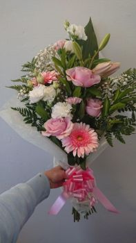 Pink Upright Bouquet