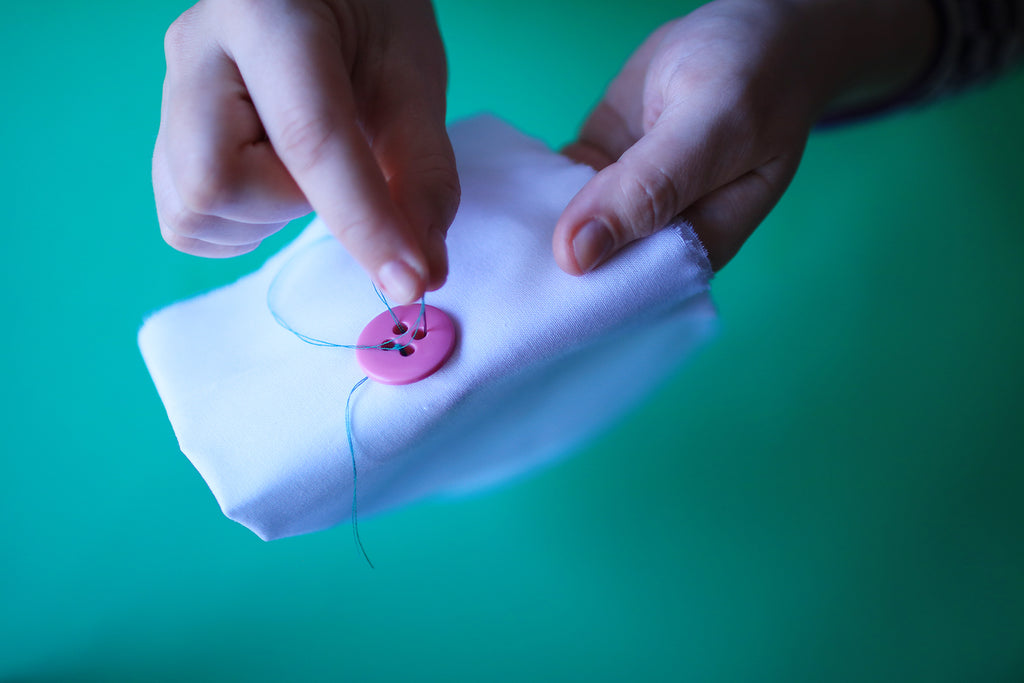The Repairment Series: How to sew on a button