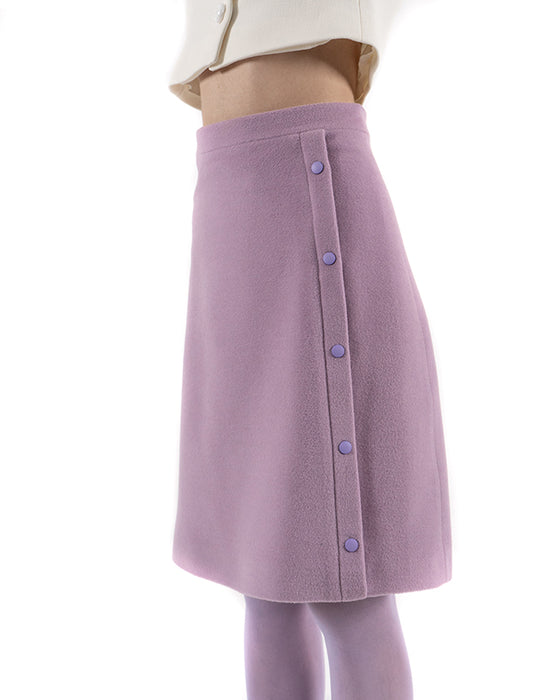CATHERINE wool and angora skirt