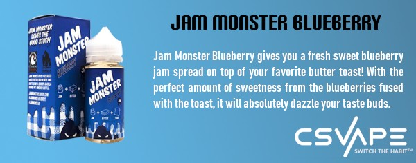 Jam monster blueberry - top rated vape juice