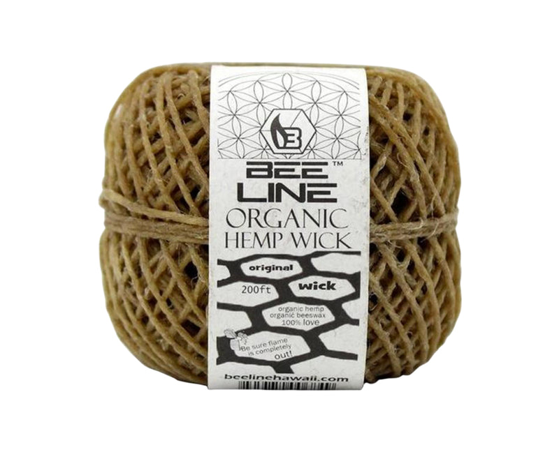 Bee Line, Organic Hemp Wick, Original