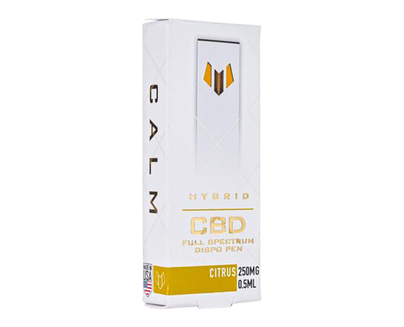 Hybrid CBD Citrus (Calm) Disposable Pen