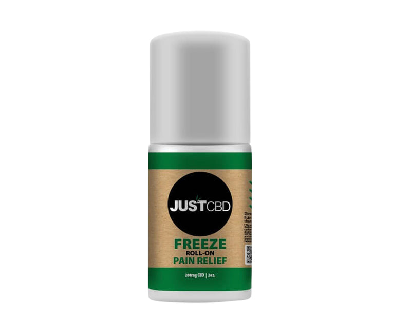 Just CBD, Freeze Roll-On Pain Relief, 200mg