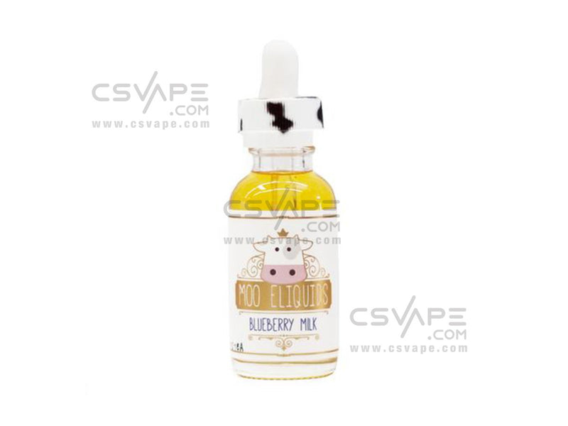 Moo E-Liquids Blueberry Milk