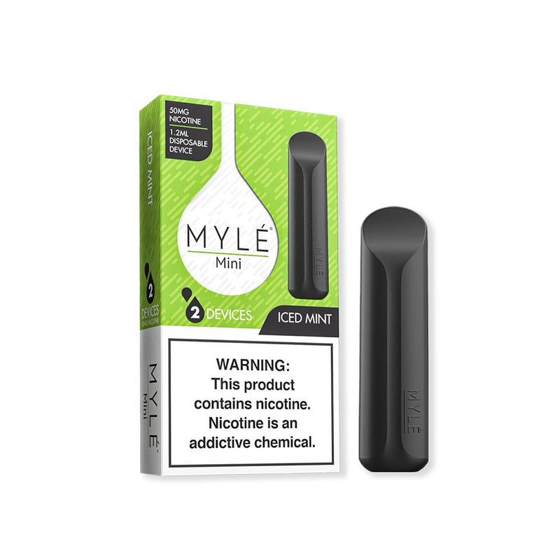 MYLE Mini Iced Mint Disposable 2 pack