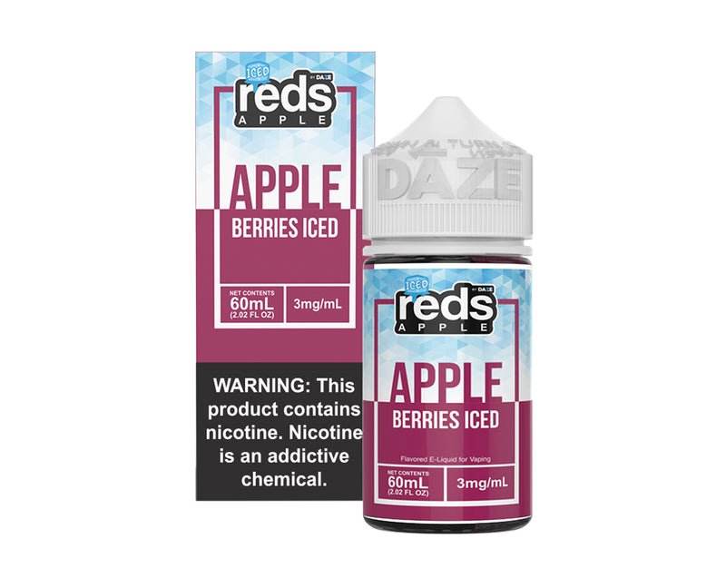 Reds E-Juice Apple Berries Iced