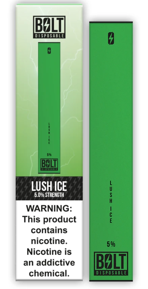 Bolt Disposable Pod System Lush Ice