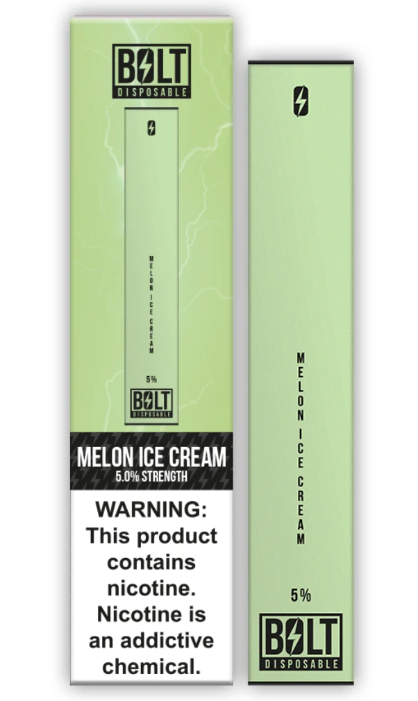Bolt Disposable Pod System Melon Ice Cream