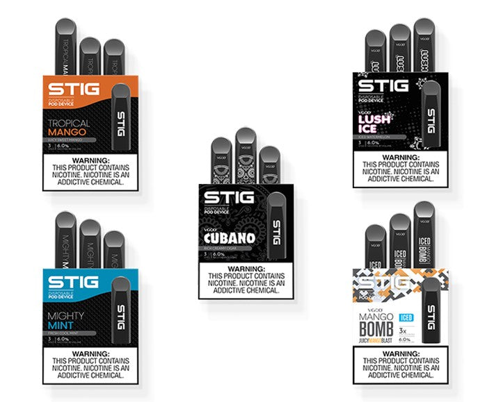 STIG Disposable Pods 3 Pack