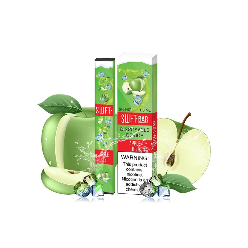 SWFT Bar 5% Disposable Device, Apple Ice