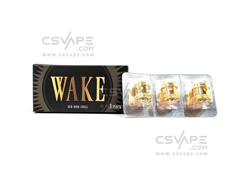 Wake Mod Co. Wake Sub-Ohm Tank Replacement Coil 3-Pack