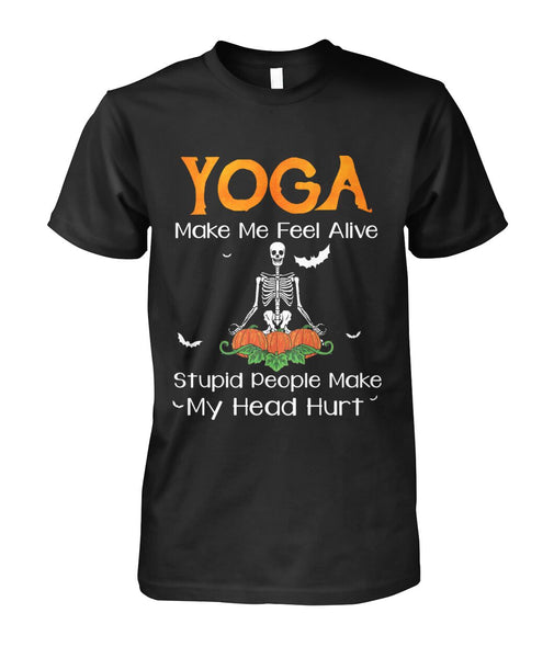 Yoga Make Me Feel Alive
