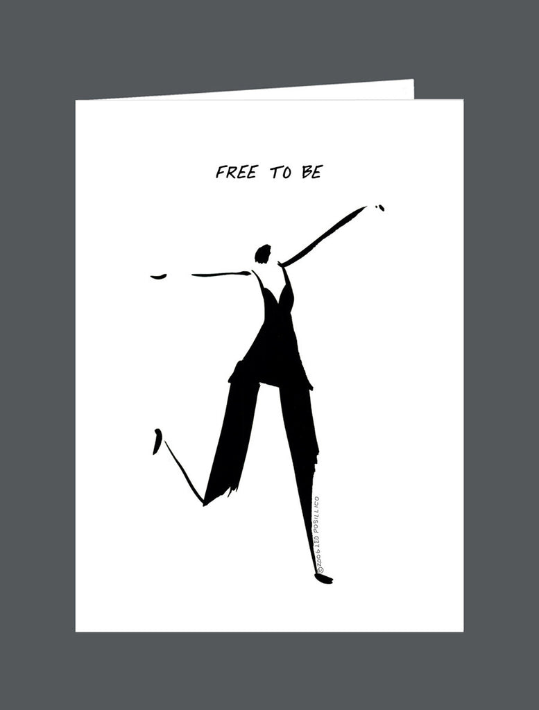 Free To Be - Card