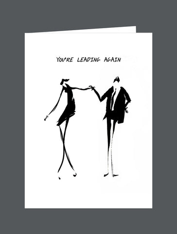 You're Leading Again - Card
