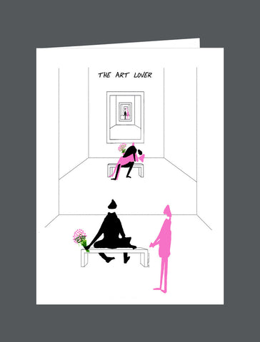 The Art Lover - Card