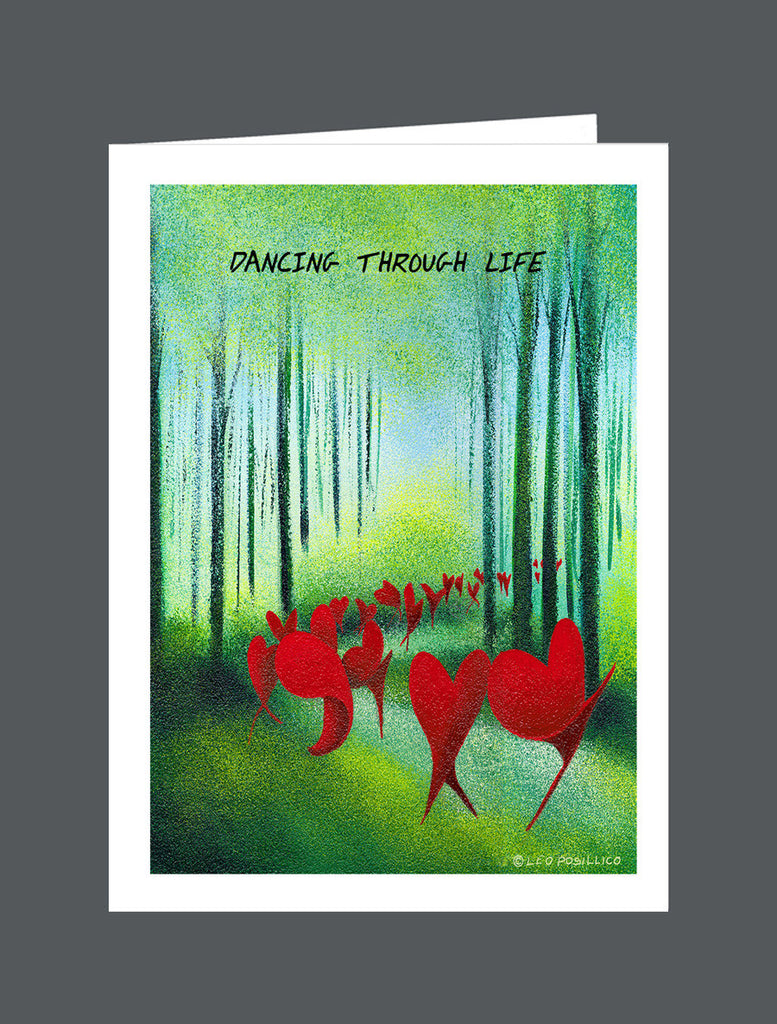 Dancing Through Life - Card