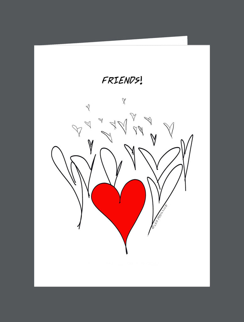 Friends!  Make All The Difference - Card