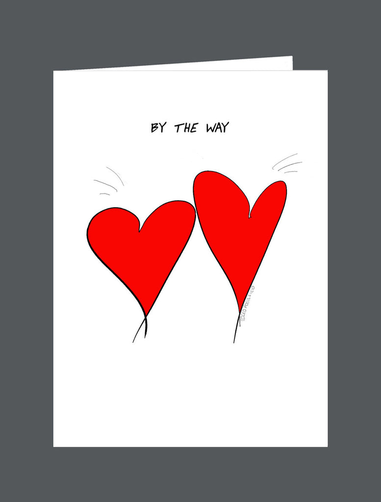 By The Way   I'm Always There For You - Card