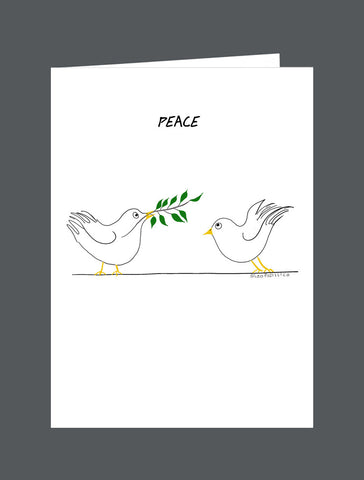 Peace  Is Everything! - Card