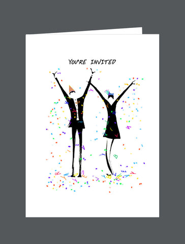 You're Invited   To Join The Celebration - Card