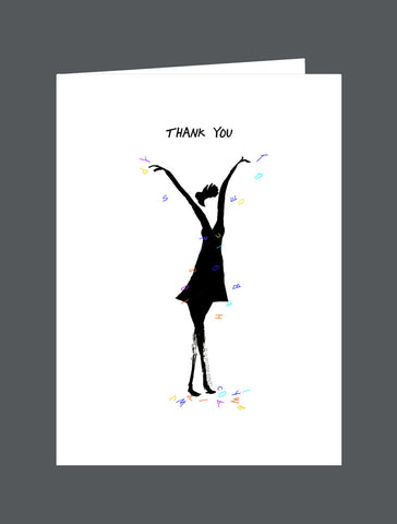 Thank You   For Everything! (Female) - Card