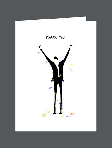 Thank You (Male) - Card