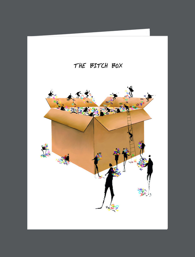 The Bitch Box - Card