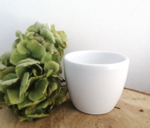 Mini Pot White Glaze