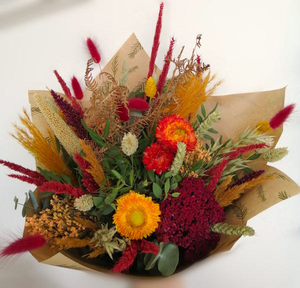 Dried flower mixed bouquet standard size