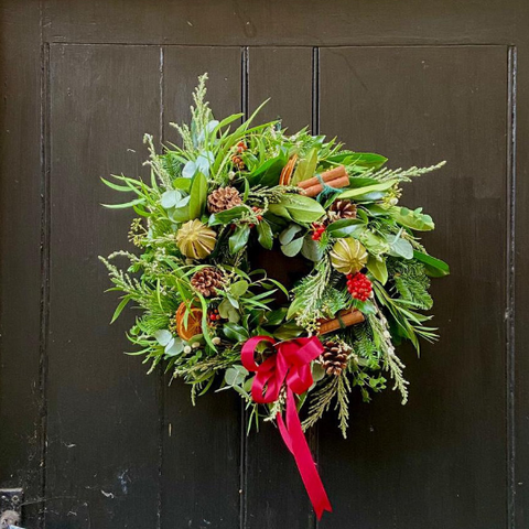 Decorate your own wreath