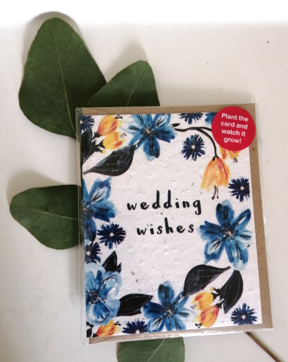 'Wedding wishes' seed card