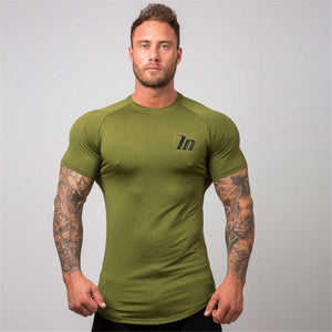 Superelastic Quick dry Skinny T-shirt