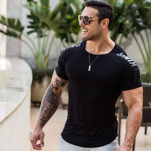 Mens Running Sports T-shirts