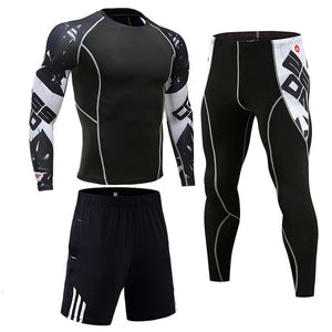 Men's Gym Sportswear Suit