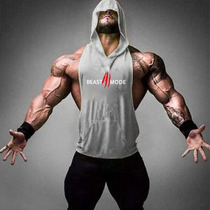 Gym clothing bodybuilding stringer vest