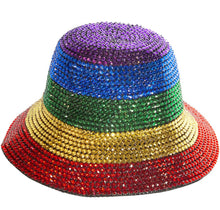 Load image into Gallery viewer, Rainbow Stone Bucket Hat