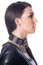 Load image into Gallery viewer, Banned Alternative Ring and Chain Studded Collar