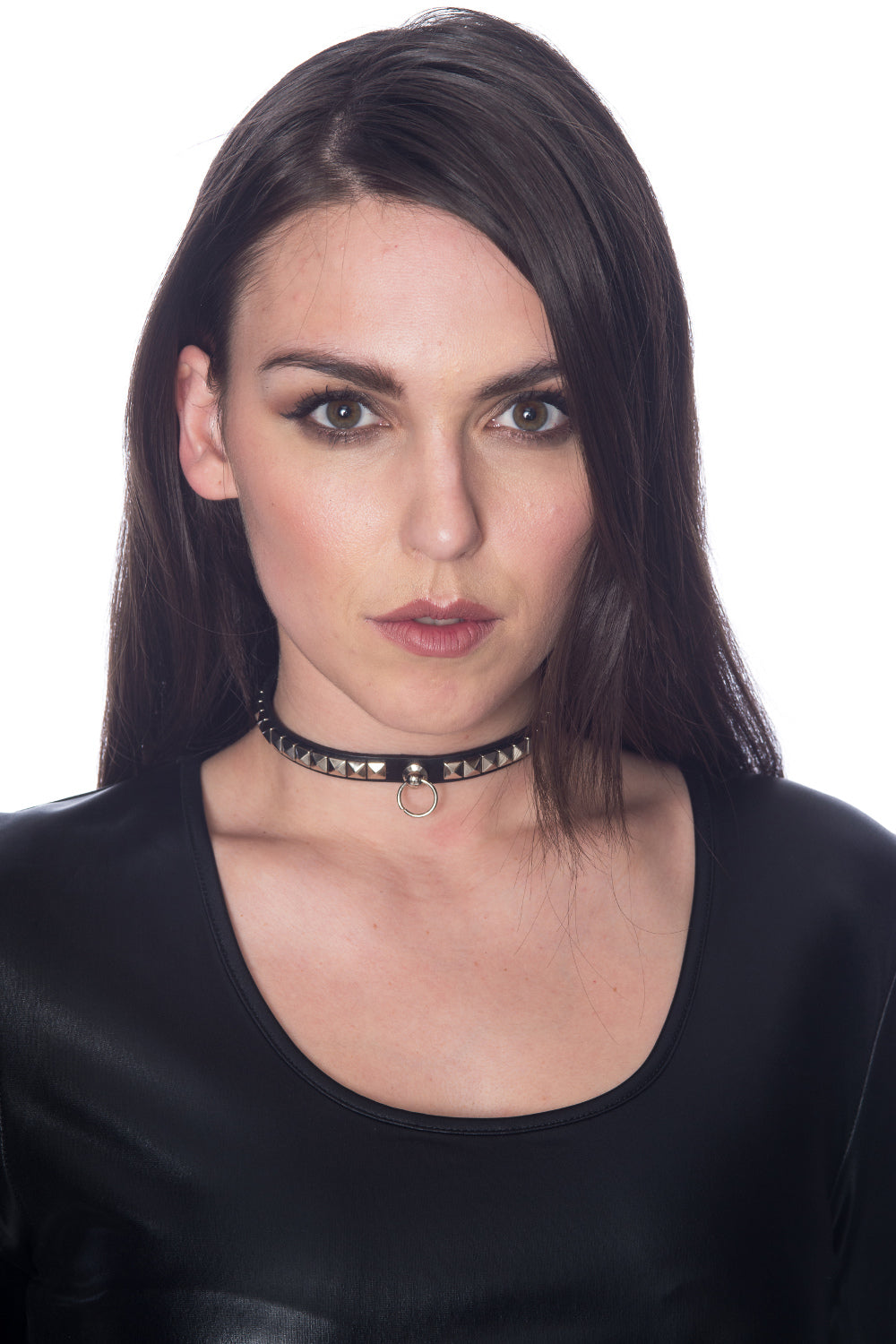Banned Alternative Calypso Studded Ring Collar