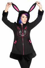 Load image into Gallery viewer, Banned Alternative Kawaii Bunny Ear Coat