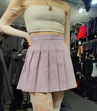 Load image into Gallery viewer, Lilac Pleated Skirt