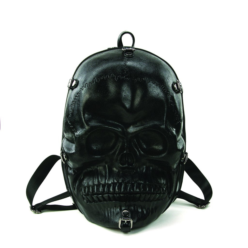 Large Skull Head Backpack