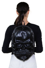 Load image into Gallery viewer, Large Skull Head Backpack