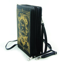 Load image into Gallery viewer, Book Of Spells Clutch Bag In Vinyl Material