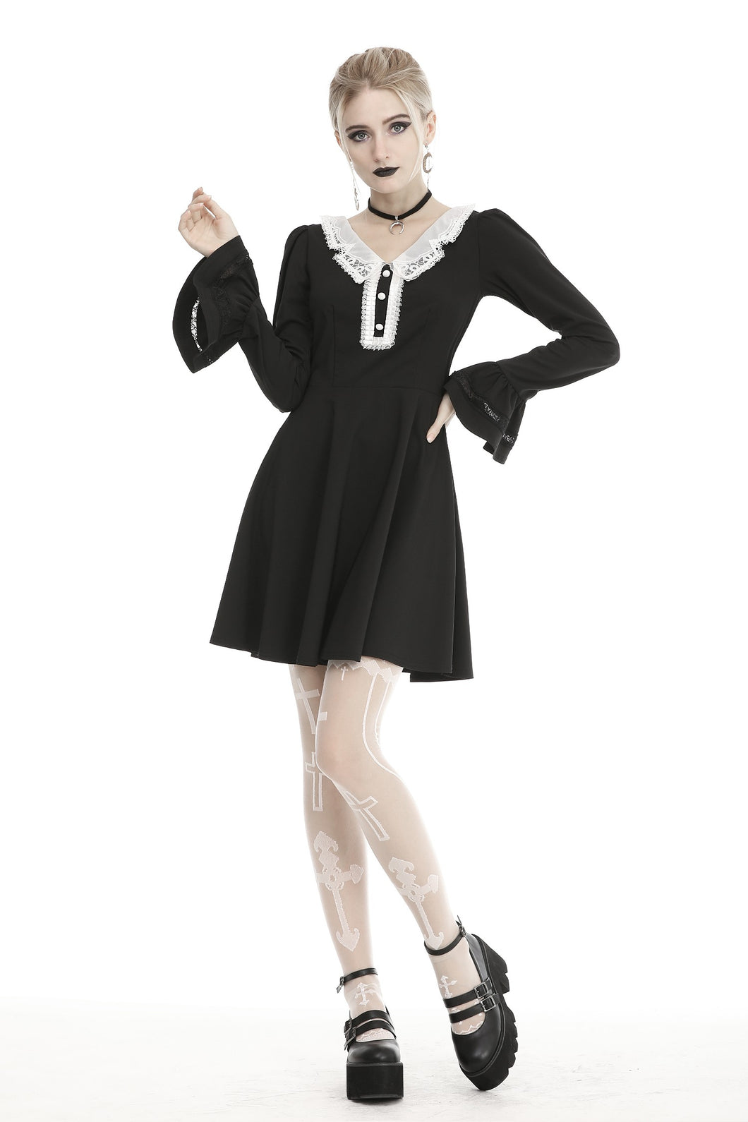 Dark in Love Gothic Lolita Longsleeved Dress