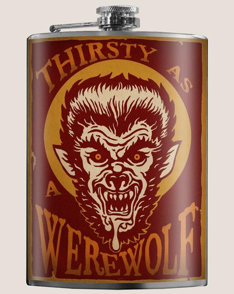 Hair of the Dog Werewolf flask