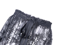 Load image into Gallery viewer, Dark in Love Black Star Sheer Mesh Skirt