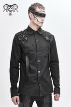 Load image into Gallery viewer, Devil Fashion Cybergoth Button-Up Shirt